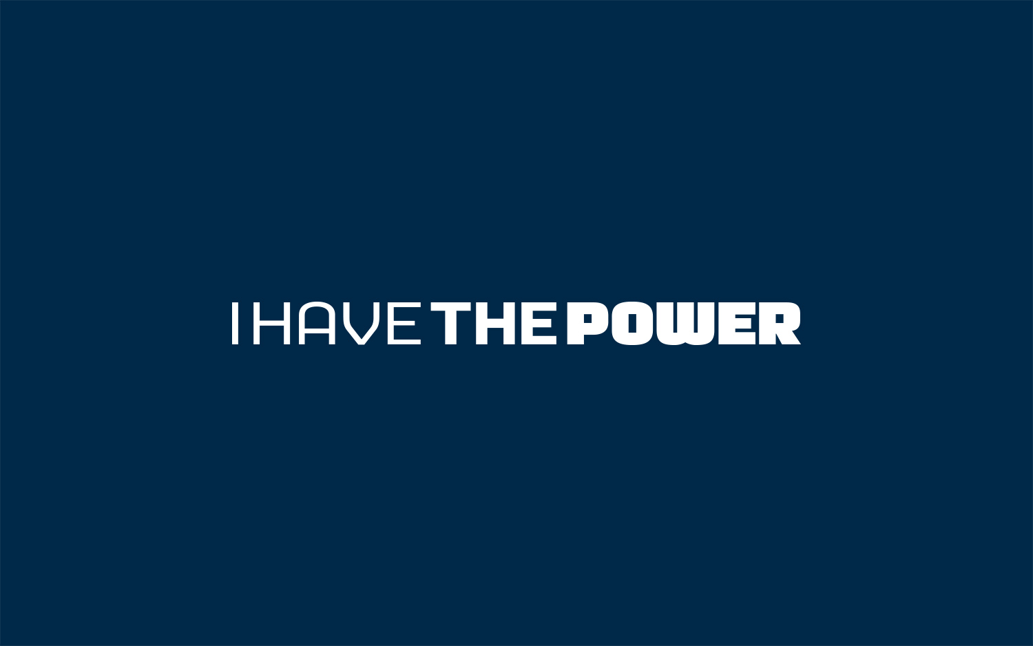 logo I Have The Power